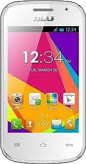 BLU Dash JR W D141w Unlocked GSM Dual-SIM Android Cell Phone - White