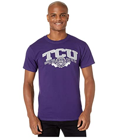 Champion College TCU Horned Frogs Jersey Tee (Champion Purple 2) Men