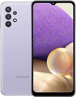 Samsung Galaxy A32 Dual SIM Smartphone - 128GB, 6GB RAM, 5G, Light Violet (KSA Version)