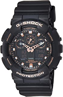 Casio G-Shock Men's Black Dial Resin Band Watch