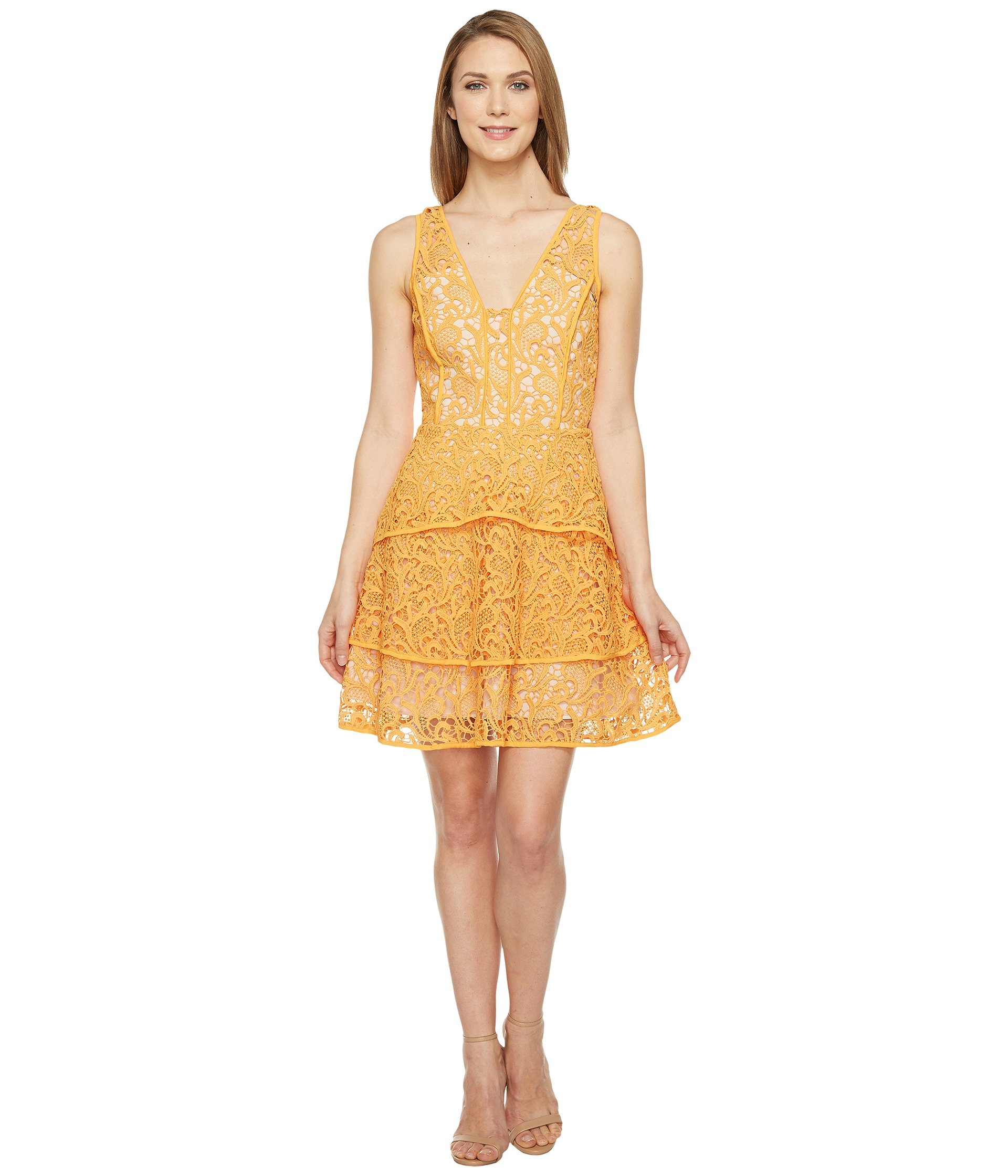 Adelyn Rae Maddie Woven Lace Fit And Flare At 6pm