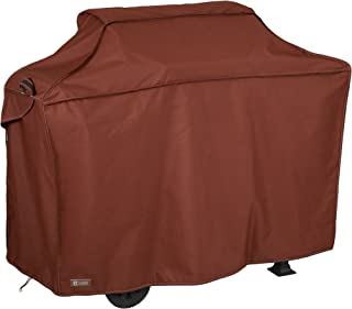 Classic Accessories Montlake FadeSafe Heavy Duty Grill Cover, Heather Henna, Large
