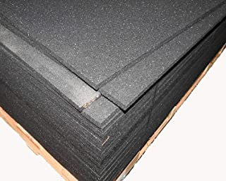 American Made Thick Rubber Gym Flooring 3/4