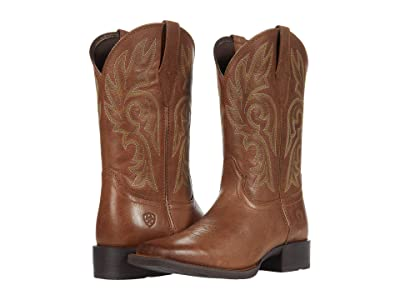 Ariat Cattle Drive (Dusty Brown) Cowboy Boots