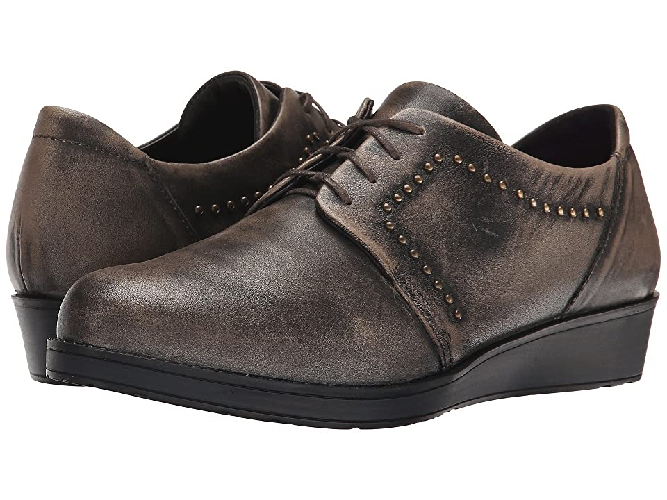 Naot Embrace (Vintage Gray Leather) Women