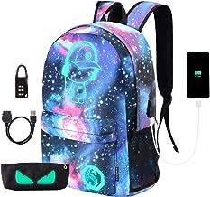 Best galaxy glow in the dark backpack Reviews
