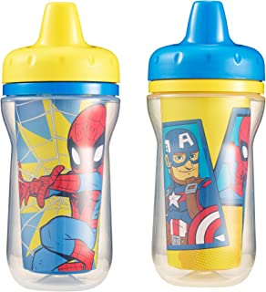 The First Years 2 Piece Insulated Sippy Cup, Marvel