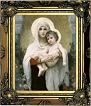 madonna of the roses bouguereau