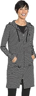 Coolibar 女式 UPF 50 Plus Zno Uv Cabana 连帽衫