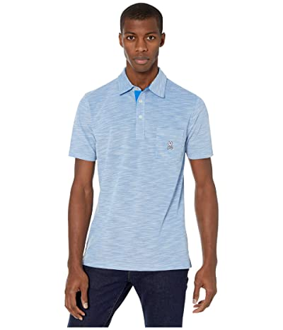 Psycho Bunny Shanklin Sports Polo (Electric Blue) Men
