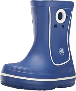 Crocs Crocband Jaunt Kids Rain Boot Cerulean Blue 10 M US Little