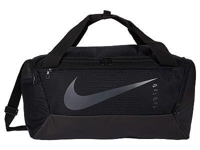 Nike Brasilia Small Duffel 9.0 (Black/Black/Black) Handbags