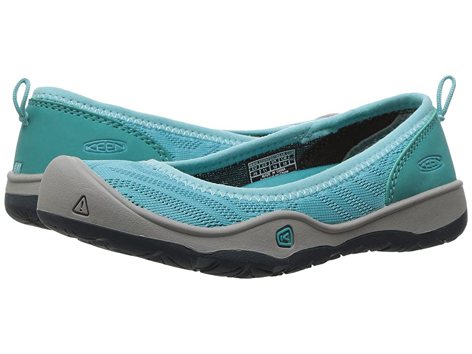 Keen Kids Moxie Flat (Toddler/Little Kid) (Radiance/Viridian) Girl
