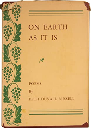 On Earth As It Is: Poems