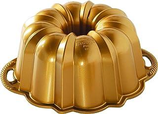 Nordic Ware 50077 Anniversary Bundt 12 Cup, Gold