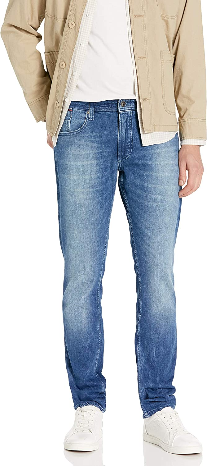 Tommy Hilfiger Men's Original 5 ☆ popular Ronnie Straight Spring new work Jeans Athletic Fit