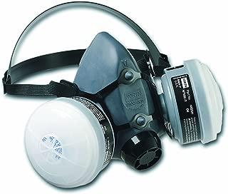 Honeywell Paint Spray & Pesticide Reusable Half Mask OV/R95 Respirator Convenience Pack, Medium (RWS-54027)