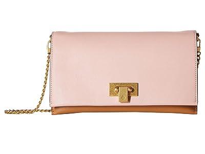 Tory Burch Carmen Mini Bag (Mineral Pink/Pink Moon/Cardamom/Newcream) Wallet