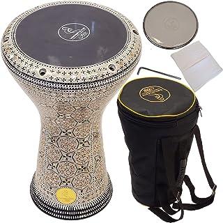 """Gawharet El Fan 17 """"darbuka drum - یک درام دستی عالی و یک ساز کوبه ای برای هدیه دادن - یک ساز ساخته شده در مصر مانند درام djembe - که به آن طبل doumbek نیز گفته می شود."""