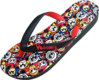LONGWEIZ Women's Flip Flops Cartoon