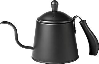 【BLKP】 パール金属 コーヒー ドリップ ポット 1.1L ステンレス製 限定 ブラック やかん BLKP 黒 AZ-5015