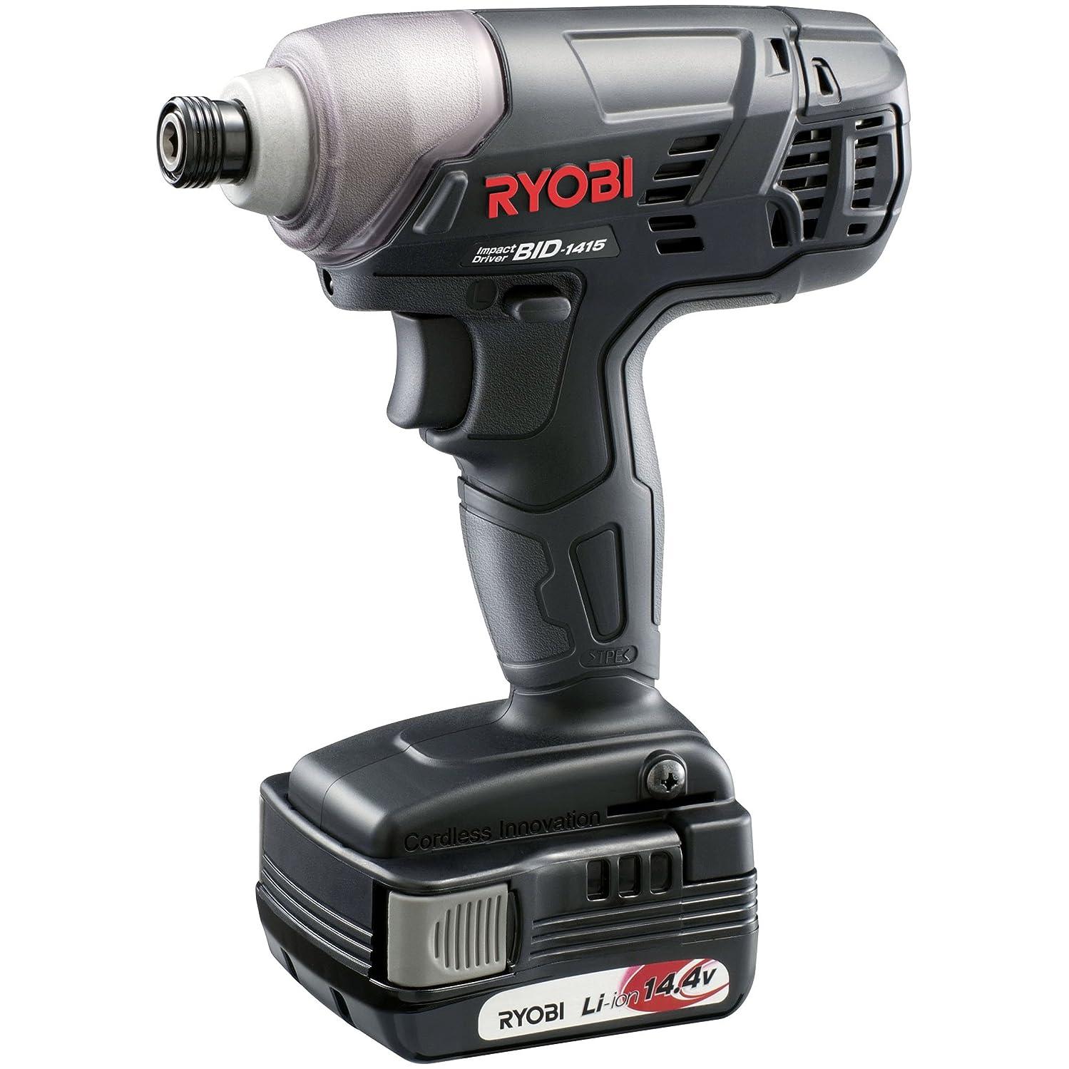 動機付ける生息地レイリョービ(RYOBI) 充電式インパクトドライバー BID-1415 14.4V 657700A