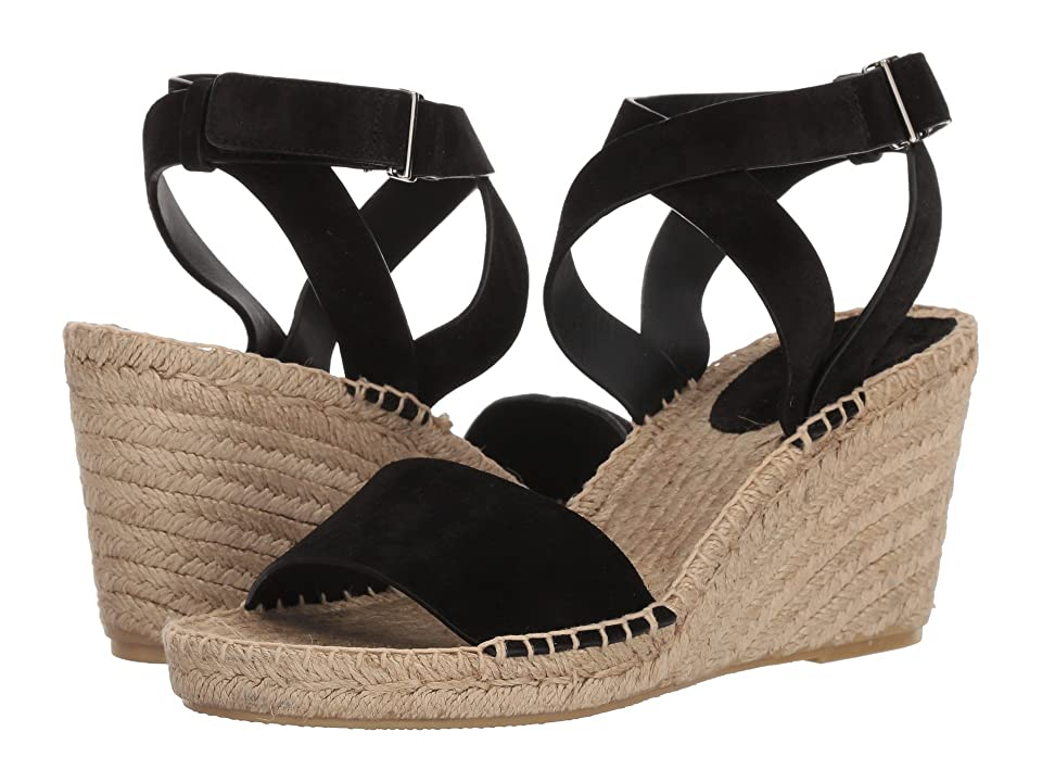 Via Spiga Nevada (Black Suede) Women