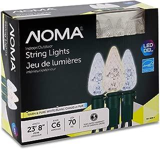 led christmas lights warm white icicle