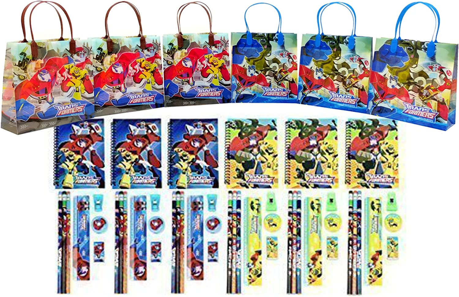 punto de venta de la marca Transformers Party Favor Stationery Set Set Set - (54 Pcs) by GoodyPlus  nueva marca
