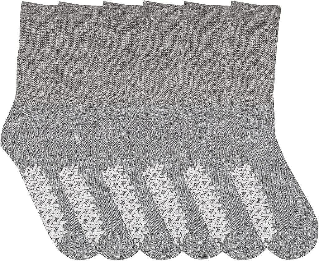 Diabetic Socks Finally resale start With Grip Non Binding M Slip Cotton Skid Anti Top OFFer