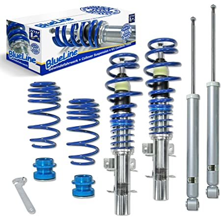 Jom Car Parts Car Hifi Gmbh 741124 Blueline Gewindefahrwerk Auto