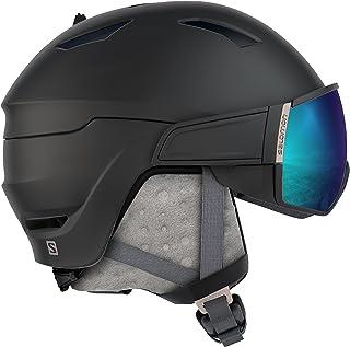 c67fca6fa1 ... Prueba de Viento con OTG sobre Gafas,. Ver oferta. SALOMON Mirage S  Casco de esquí y Snowboard con Visor para Mujer, Solution OTG,