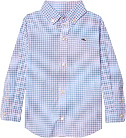 Check Plaid OTG Performance Woven Shirt (Toddler/Little Kids/Big Kids)