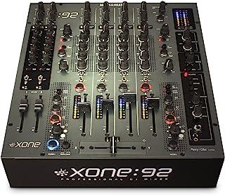 Allen & Heath Xone:92 Fader Professional 6 Channel Club/DJ Mixer With Faders