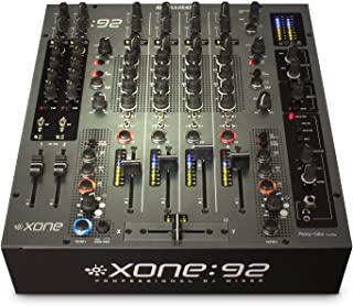 Allen & Heath Xone:92 Fader Professional 6 Channel Club/DJ Mixer With Faders