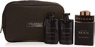 Bulgari Men's Spray 3.4 Oz, Shampoo/Shower Gel 2.5 Oz, After Shave Balm 2.5 Oz, Pouch in Gift Box
