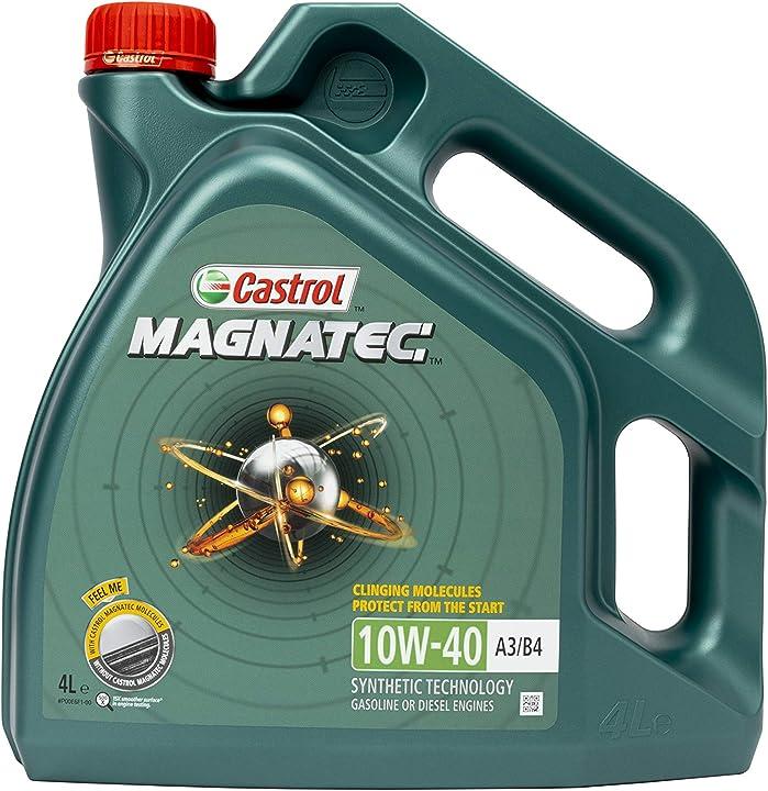 Olio motore smc castrol magnatec 10w-40 - benzina/olio motore diesel parzialmente sintetico 4l 151B20
