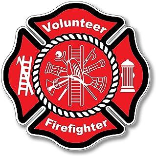 Haley Aufkleber für Feuerwehrmann oder Feuerwehrfrauen, 3 Stück