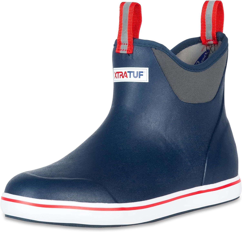 6. Xtratuf Performance Series Ankle Deck Waterproof Boots