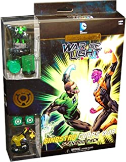 DC HeroClix War of Light - Sinestro Corps War Scenario Pack