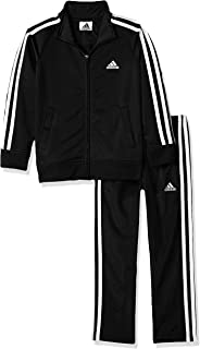 adidas Boys' Tricot Jacket & Pant Clothing Set