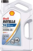 Shell Rotella T4 Triple Protection Conventional 10W-30 Diesel Engine Oil (1-Gallon, Case of 3)