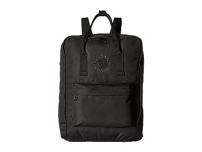 Fjallraven Re-Kanken (Black) Bags