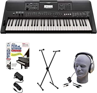 $329 Get Yamaha PSR-E463 EPS Educational Keyboard Pack with Power Supply, X-Style Stand, Headphones, USB Cable, and Instructional Software