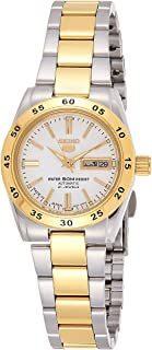 SEIKO Women's Automatic Watch, Analog Display and Stainless Steel Strap SYMG42J1