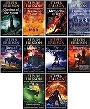 Steven Erikson 10 Books Collection Set (Vol. 1-10) (The Malazan Book of the Fallen)