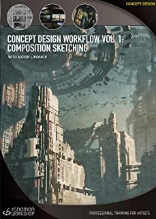 Concept Design Workflow Vol 1: Composition Sketching with Aaron Limonick