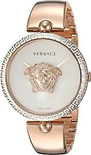 Versace - VCO110017 - Reloj de cuarzo para mujer, acero inoxidable chapado en oro