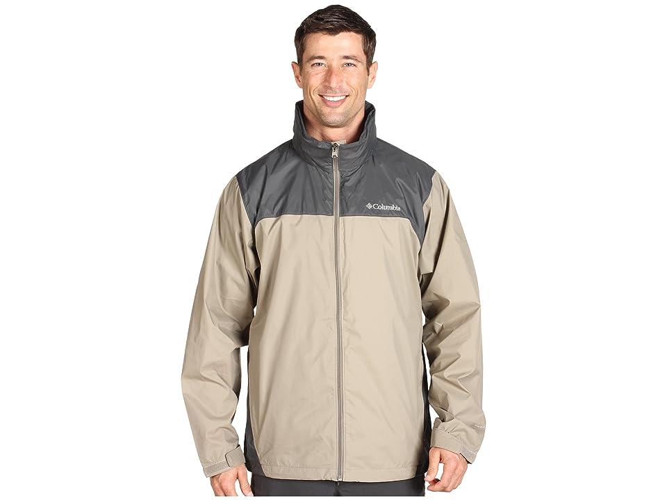 Columbia Glennaker Laketm Rain Jacket (Tusk/Grill) Men