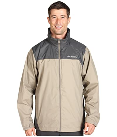 Columbia Glennaker Lake Rain Jacket (Tusk/Grill) Men